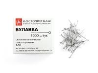 Булавка канцелярская 1000шт 28мм  (100BL)