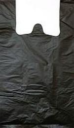 Пакет п/эт майка 34*34см черный