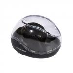 Скрепочница с магнитным шариком черная  (6355195)