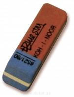Ластик Blue Star 6521 красн с синим (56 шт в коробке)  (6521060010KD)
