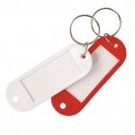 Брелок д/ключей с инфо-окном трапеция Ассорти  (360)